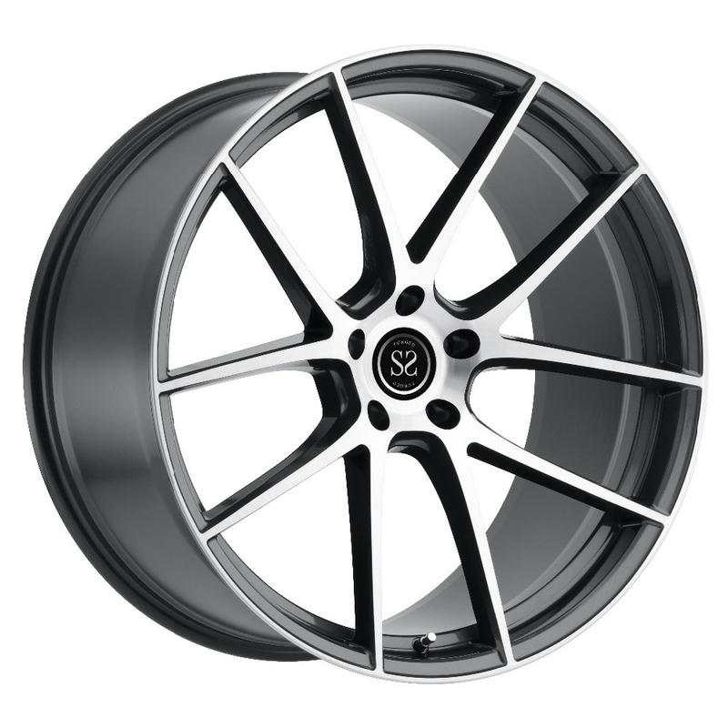 Custom 20 21 22 23 24 one piece forged wheels  with alcoa jant alcoa aluminum wheels