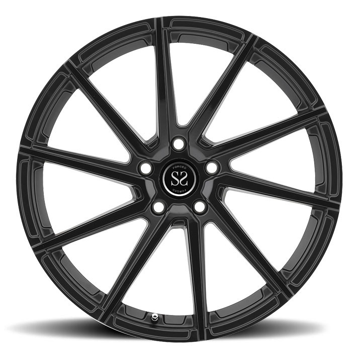 Black alloy customize aluminum forged car wheels rim china factory